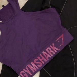Gymshark sports bra crop top (sold)